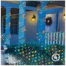 5' Square feet Ribbon Style Christmas Multi Lights Yard Decor