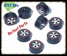 (12) Hot Wheels Redline Replacement Wheels, MEDIUM bearing/bushing style only
