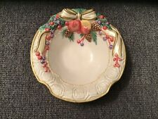 Fitz and Floyd Home Fragrance Bowl about 6 inches in length No Chips or Cracks