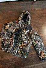 Boys Youth Woolrich Jacket Camo Full Zip Jacket Sz xl  18-20 HOODED