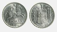pci6190) Spagna Espana -  10 Cent 1945