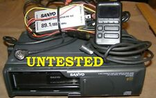 Sanyo Max 6600 6 Cd Changer Not Tested No Original Box