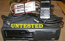 New listing Sanyo Max 6600 6 Cd Changer Not Tested No Original Box