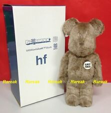 Medicom Be@rbrick World Wide Tour 400% BWWT Fragment HF Flocked Brown Bearbrick