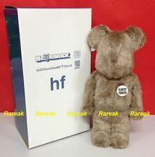 Medicom Be@rbrick World Wide Tour 400% BWWT Fragment HF Flocked Brown Bearbrick