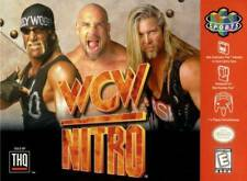 WCW Nitro N64 Great Condition Fast Shipping