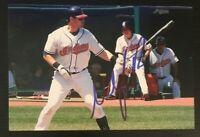 MATT LAPORTA MLB Cleveland Indians Autographed Signed 4x6 Photo 2