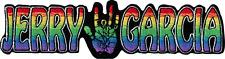 110041 Rainbow Jerry Garcia Band Logo Hand Rock Music Sew Iron On Patch