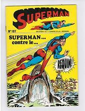 FRENCH COMIC FRANÇAIS EDITION INTERPRESSE  SUPERMAN  107  BELGIQUE