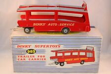 Dinky Toys 985 Trailer for car carrier very very near mint in box Superb