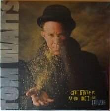 Tom Waits - glitter and dome LIVE 2LP 180g vinyl NEU/OVP/SEALED