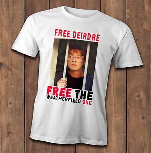 Free Deirdre T-Shirt, Coronation street Deirdre Barlow, jail freedom campaign