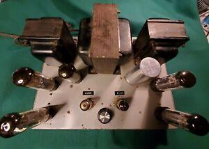 Hammond AO-58-1 stereo power amp ~~Dynaco ST-70 copy~~ EL-34 vacuum tube