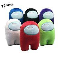 20CM Among Us Plush Soft Stuffed Toy Doll Game Figure Plushie Kids Xmaxs Gif