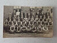 1933 Australian School Class  Photo Postcard    ( Lot P1)