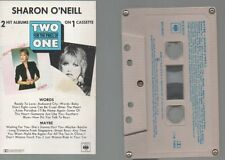SHARON O'NEILL RARE AOR CASSETTE 1981 2 for 1 MAYBE / WORDS New Zealand