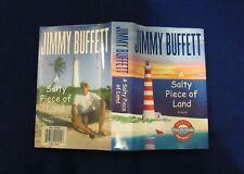"Jimmy Buffett's ""A Salty Piece of Land"", Brand New Hardback book and Cd set"