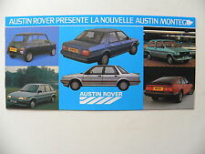 Brochure / publicité AUSTIN ROVER la nouvelle MONTEGO  mini 2 pages