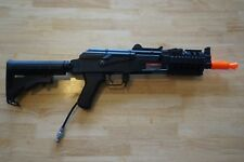 Cyma AK74U RIS Handguard Airsoft Rifle HPA converted w Wolverine Inferno Gen 2