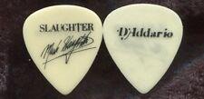 SLAUGHTER 1990 Stick It Tour Guitar Pick MARK SLAUGHTER custom concert stage #2