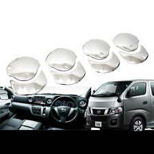 SUS304 Stainless Steel A/C Vent Garnish Cover Trim For Nissan CARAVAN NV350 E26
