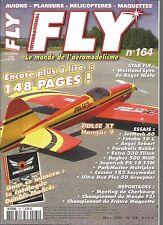 FLY N°164 PLAN : SUKHOI 31 / PULSE XT 60 HANGAR 9 / LYNX / FUTABA 10 C / JETMACH
