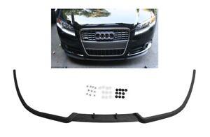 Für Audi A4 S4 RS4 B7 Front Spoiler Lippe Frontschürze Frontlippe mit Schrauben