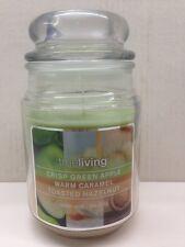 Crisp Green Apple, Warm Caramel & Toasted Hazelnut Triple Scent Jar Candle 18oz