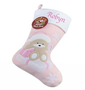 Personalised Embroidered Christmas Stocking With Your Name