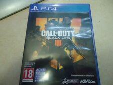 PS4 CALL OF DUTY CALL OF DUTY BLACK OPS 1111 CUATRO 4 USADO PAL ESPAÑA 18€