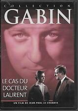DVD ZONE 2--LE CAS DU DOCTEUR LAURENT--GABIN/LE CHANOIS/COURCEL/MONFORT