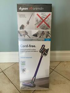 Dyson V8 Animal+ Cordless Vacuum Cleaner Iron/Gray New!!!