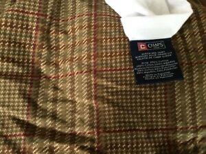 Ralph Lauren Chaps Summerton  Floral Houndstooth Queen Bed Skirt, EUC