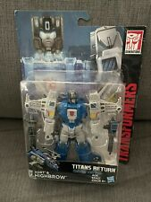 New listing Transformers Titans Return Deluxe Class Xort & Highbrow New Sealed