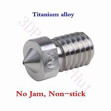 5x High Temperature nozzle M6 F/ V6 Hotend Lite6 Titan Aero Extruder 3D Printer