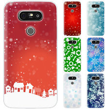 Dessana Christmas Pattern Silicone Protective Case Pouch Cover For LG