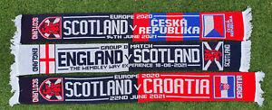 SCOTLAND SCARF EURO 2020 CZECH REPUBLIC ENGLAND CROATIA