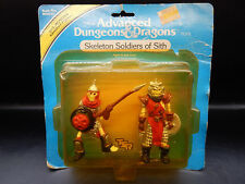 MOC 1983 tsr SKELETON SOLDIERS OF SITH Advanced Dungeons & Dragons monster LJN !