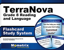 TerraNova Grade 8 Reading and Language Flashcard Study System