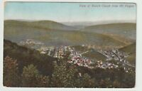 1908 Postmarked Postcard View of Mauch Chunk from Mt Pisgah Pennsylvania PA