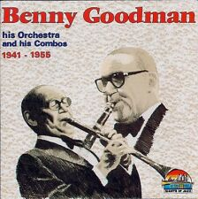 + CD RARO AUDIO Benny Goodman ‎ Benny Goodman His Orchestra And NUOVO Sigillato
