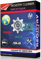 FIX SLOW - REPAIR ERRORS REGISTRY CLEANER PC TUNEUP -  SOFTWARE DOWNLOAD