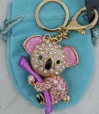 Mixed Metals Pink Costume Handbag Jewellery & Mobile Charms