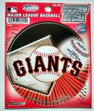 SAN FRANCISCO GIANTS MLB Baseball Round Vinyl Decal Sticker Logo