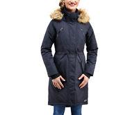 Merrell Lohri Long Redux Parka Jacket JWF23269/001 Black Melange NEW