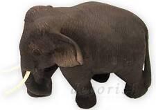 Rare Hand Carved TEAK Wooden Thai ELEPHANT Figurine Model Best Animal Lover GIFT