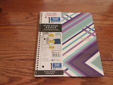 Lot Of 3 Five Star Spiral Notebook 1 Subject College Ruled Paper 100 Sheets