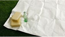 "Dupont Tyvek Softwrapt type Sheets Fabrics 59""wide Sliver Coated"