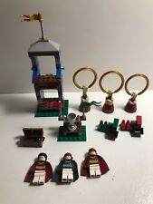 LEGO set 4737 Harry Potter Quidditch Match INCOMPLETE missing pieces