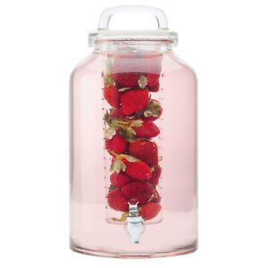 Maxwell & Williams Refresh 8.5L Water Glass Drink Dispenser w/Infuser/Beverage